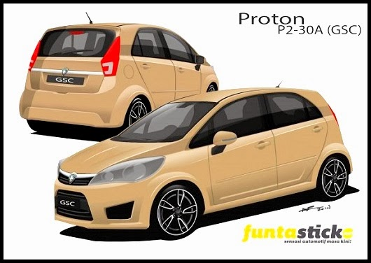 New Proton Global Small Car