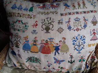 gamle korsstingsmønstre