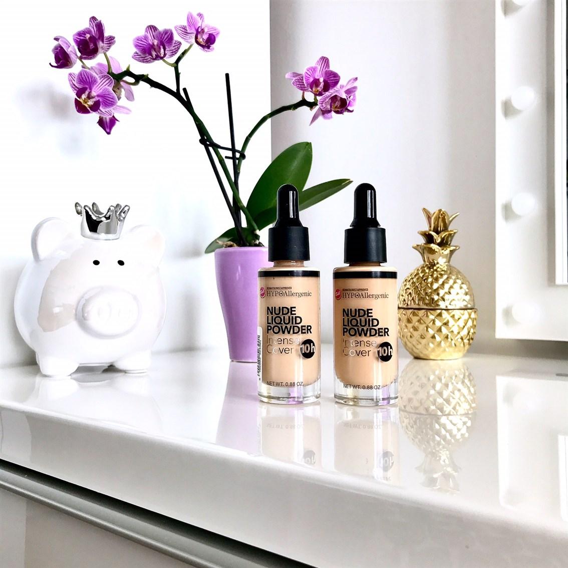 podkład Bell Hypoallergenic Nude Liquid Powder