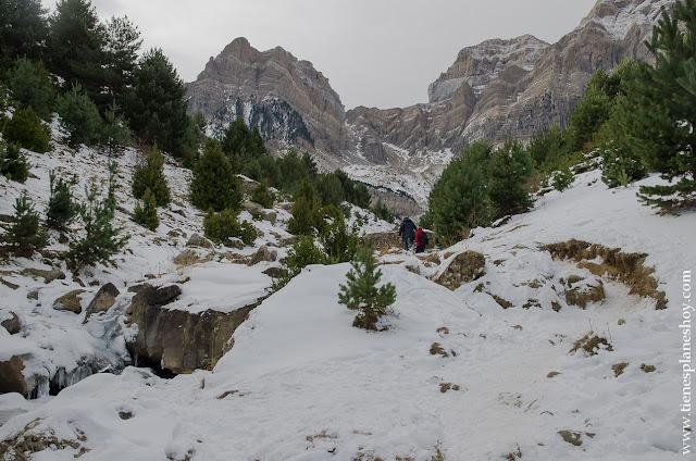 Ibon de Piedrafita ruta Huesca senderismo