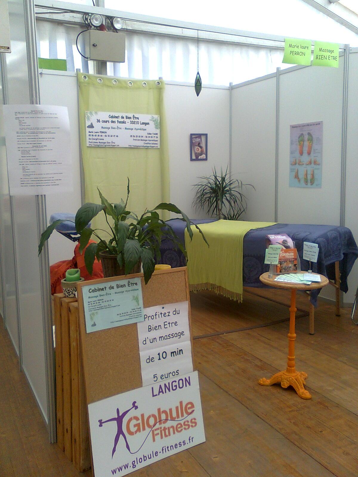 Marie Laure PERRON praticienne MassageBientre 42 cours des fosss 33210 LANGON 06 43 69 47 46