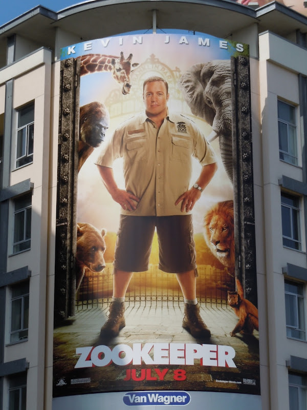 Zookeeper movie billboard