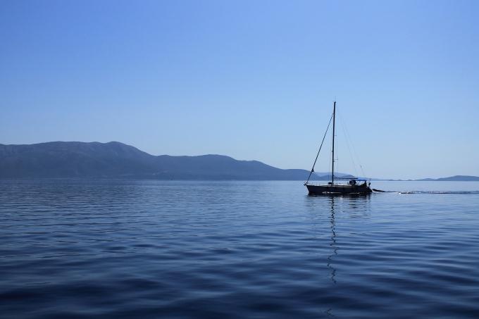 Päiväretki Nidristä, Lefkakselta / Veneretki Joonianmerelle, Meganisi, Skorpios