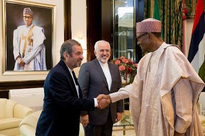 President Buhari Receives Delegates From Islamic Republic Of Iran At The Villa. Photos