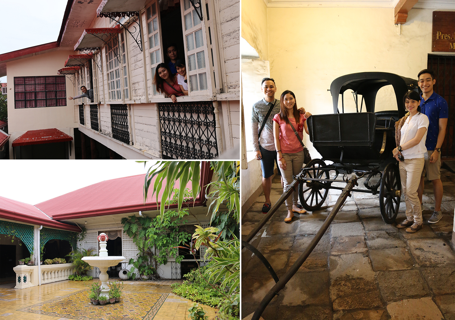 travel Vigan Ilocos Tour Sur Philippines tour tourism Syquia Mansion Elpidio Quirino