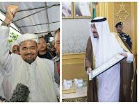 Doakan,Ternyata Habib Rizieq Tak Datang di Acara Raja Salman, karena Masalah ini