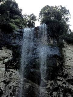 Cachoeira Gêmeas Gigantes no Parque das 8 Cachoeiras, em São Francisco de Paula