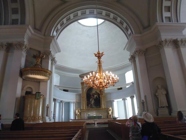 Interior de la Catedral de Helsinki