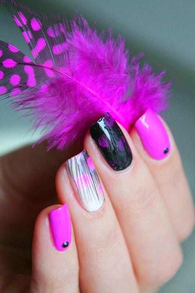 Nails animal print 💅 | Nails, Animal nails, Animal print
