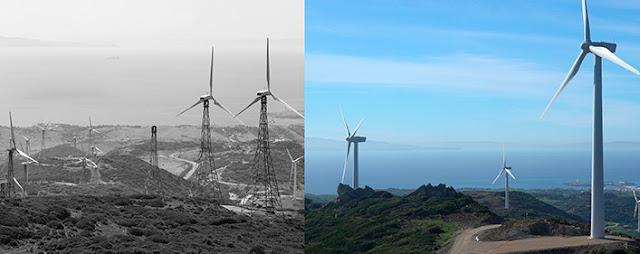 Repowering del parque eólico