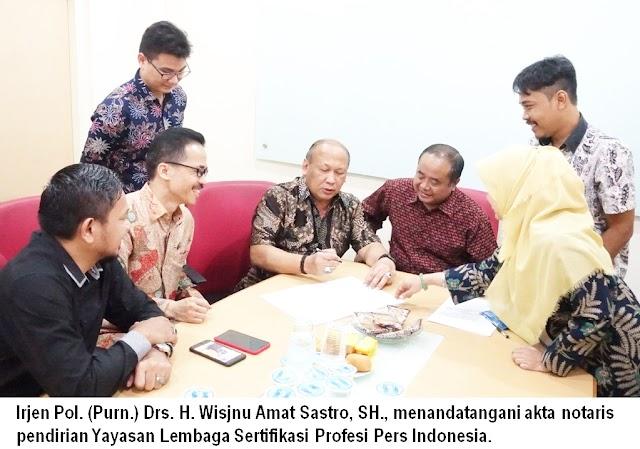 Disahkan Kemenkumham,  LSP Pers Indonesia Menjawab Keresahan Wartawan Soal Uji Kompetensi Wartawan