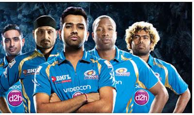IPL9 T20 Mumbai Indians Match Schedule 2016 MI Match Schedule