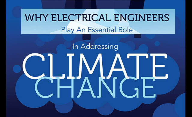 Why Electrical Engineers Play an Essential Part in Addressing Climate Change