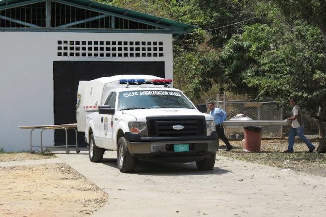 Acribillado frente a su familia en el patio de su casa en Trujillo