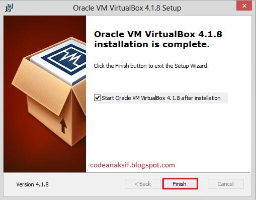 cara menginstall virtual box