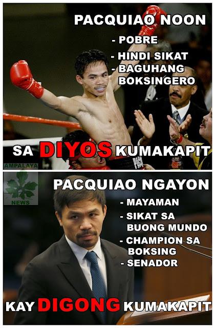 Manny Pacquiao Noon at Ngayon