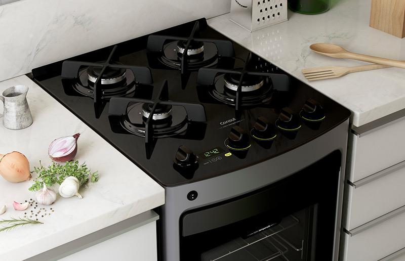 pelo cooktop e o forno embutido e quais as suas diferenças pro fogão