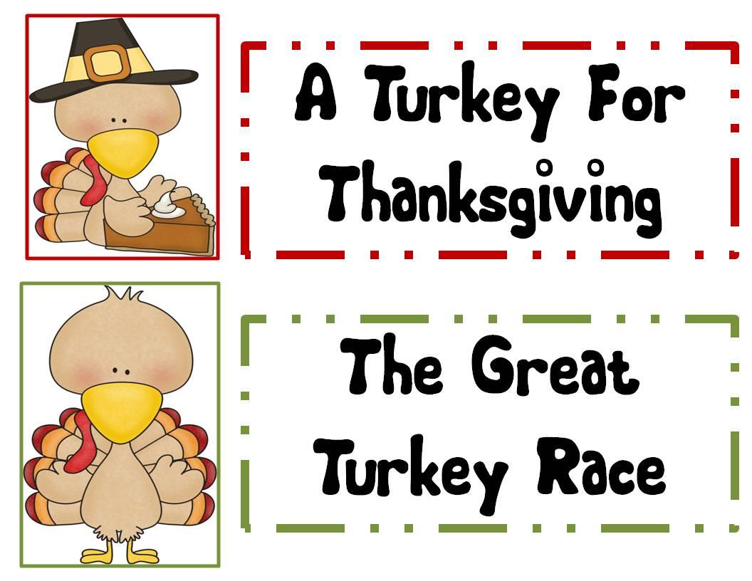 First Grade And Fabulous Turkey Day Fun