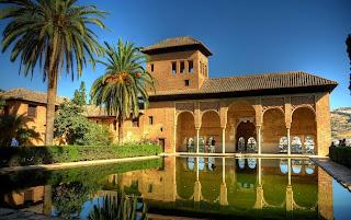 Alhambra, Granada, Andalucía, Spain