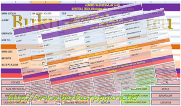 Contoh Buku Kerja Guru Kurikulum 2013 Revisi Terbaru ...