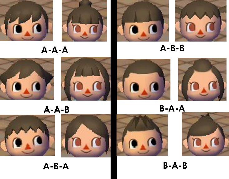 En una tendencia ascendente peinados animal crossing new leaf Imagen de cortes de pelo consejos - Animal Crossing Lets Go To The City: Peinados