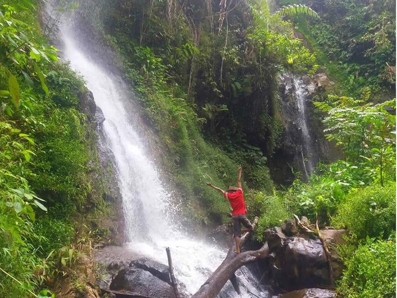 Curug Teureup Tempat Wisata di Tasikmalaya Terbaru