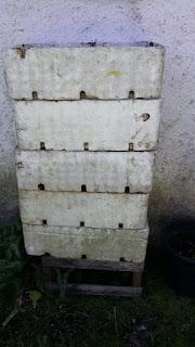 Trabajo de compostera casero