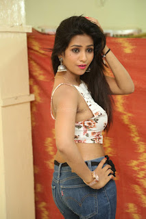 Deekshita Parvathi in a short crop top and Denim Jeans Spicy Pics Beautiful Actress Deekshita Parvathi January 2017 CelebxNext (50).JPG