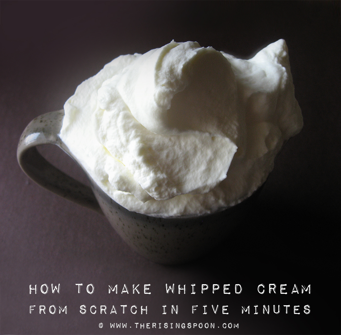How To Make Whipped Cream From Scratch In FiveMinutes foto