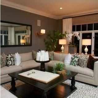 A mi manera colores que hacen ver una sala elegante - Que color puedo pintar mi casa ...