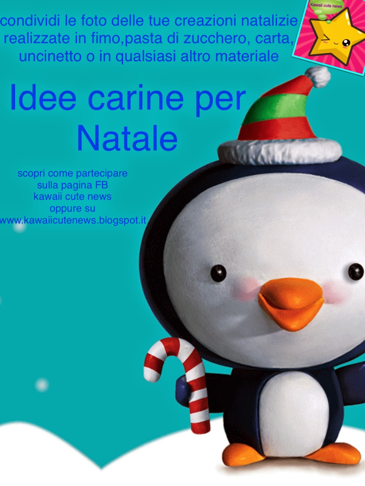 Immagini Natalizie Kawaii.Idee Carine Per Natale Kawaii Cute News