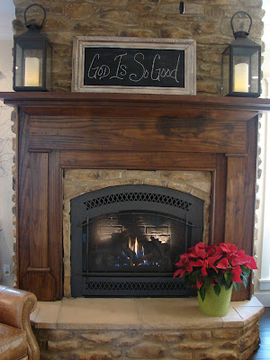 Cobblestone farms the fireplace - Fireplace hearth stone ideas ...