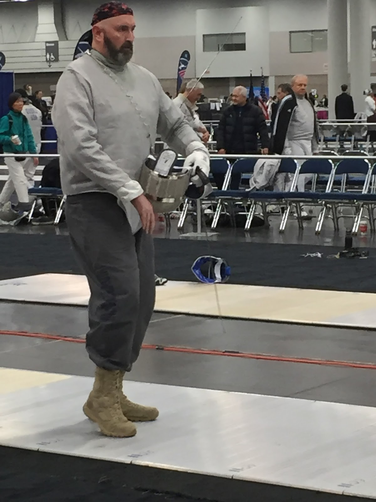 The Fencing Fashionista: Posting Portland