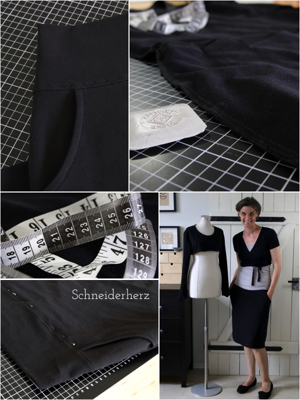 Kleid in Rock ändern Frau Funnie selber nähen
