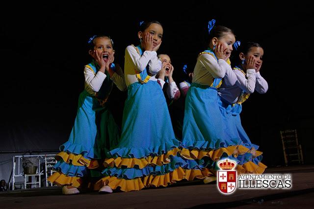 Un momento de la actuación de la tarde de Flamenco de la asociacion Mudejar. IMAGEN COMUNICACION ILLESCAS