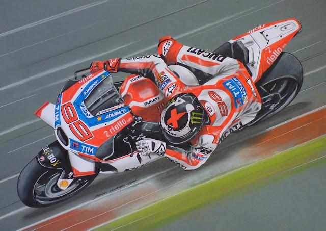 berita motogp Target Lorenzo : Menyamai dan melebihi capaian Stoner di Ducati