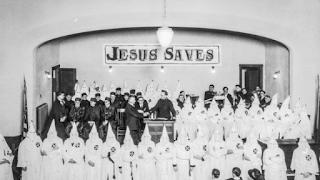 Culto do Ku Klux Klan na Igreja Metodista