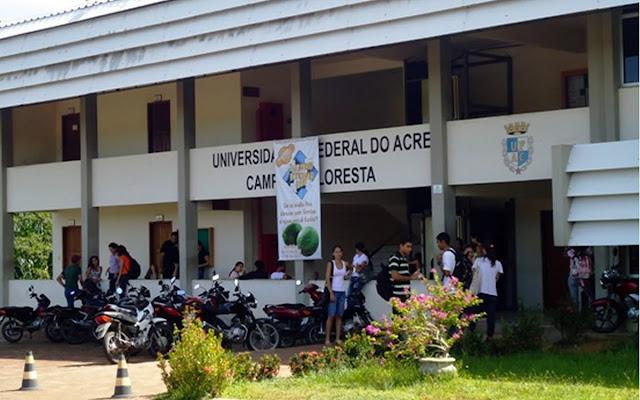 UFAC - Universidade Federal do Acre abre concurso publico efetivo para nível médio e superior
