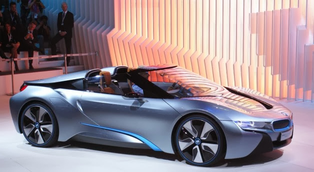 2014 Bmw I8 Spyder Ready To Launch Mycarzilla