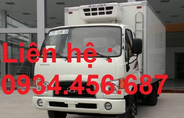 Giá lăn bánh xe Hyundai 75s đông lạnh 3.5 tấn
