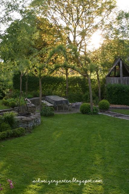 Ein Schweizer Garten Tschüss Baum War schön mit dir