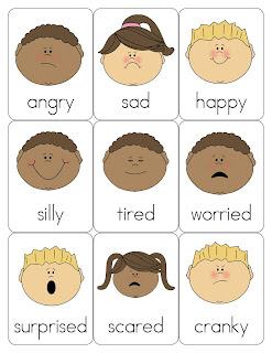 Resultado de imagen de feelings faces for children