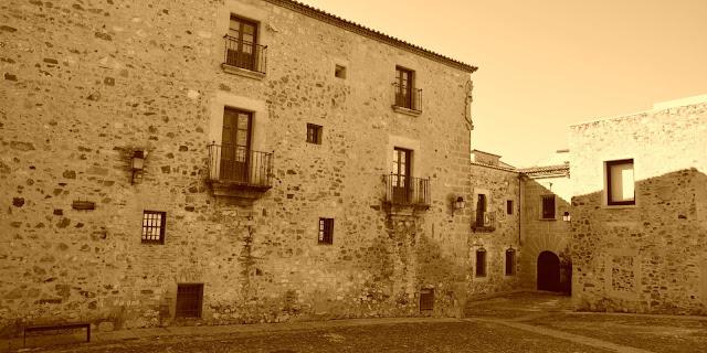 Cáceres casa de los Ulloa