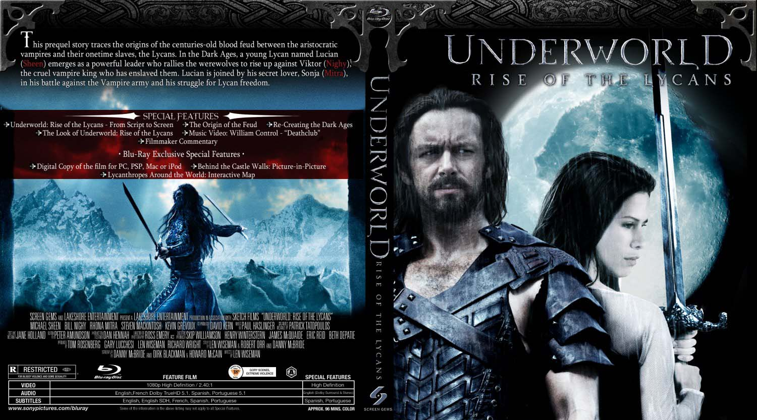 Underworld Rise Of The Lycans (2009) Dual Audio {hindi
