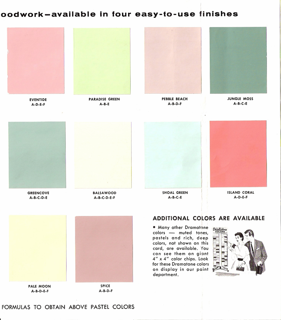 2014 Interior Paint Colors: The Sunshine Grove: 1950s Glidden Interior Paint