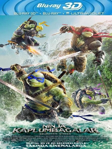 Ninja Kaplumbağalar: Gölgelerin İçinden (2016) 3D Film indir