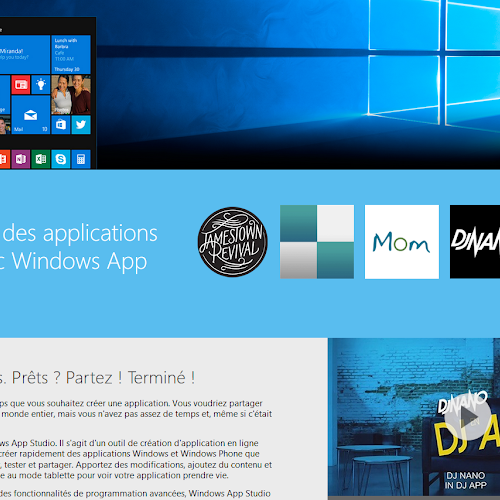 Windows App Studio - خدمة لإنشاء و تصميم تطبيقات ويندوز فون