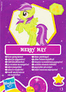 My Little Pony Wave 6 Merry May Blind Bag Card