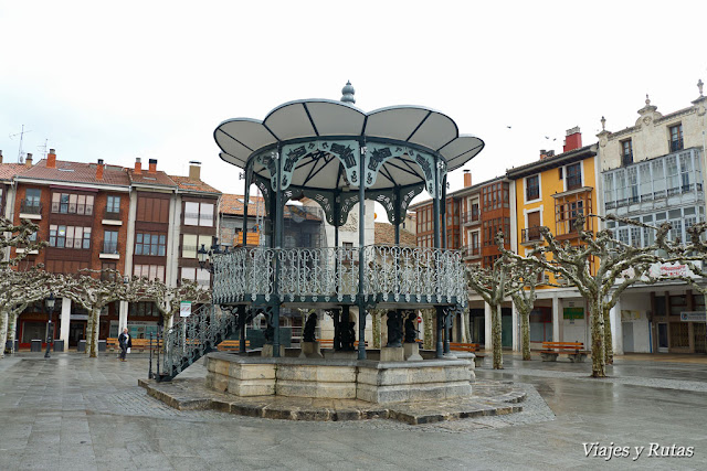 Plaza Mayor de Briviesca