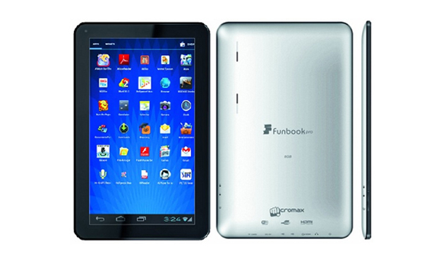 Micromax launches the best value for money tablet in India